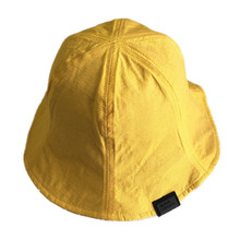 Summer Sun Hat Double-Sided Girls Cap Bucket Reversible Women Yellow Students Caps Casual Solid Beach Hats UV Protection