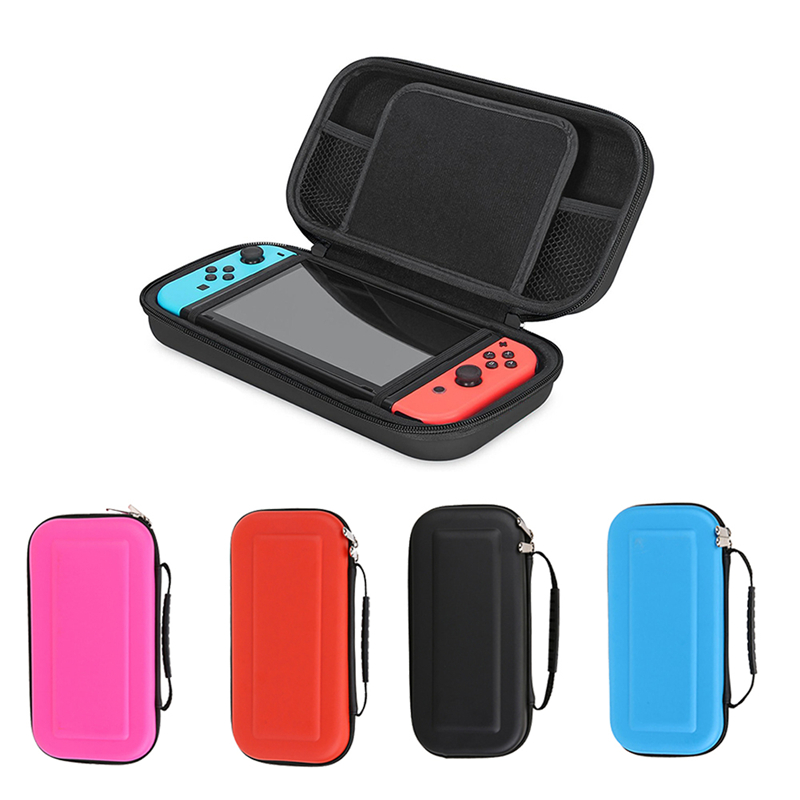 For Nintend Switch Storage Bag EVA Protective Hard Case Travel Carrying Game Console Handbag for Nintendo Switch Case
