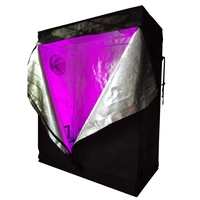 20 x 60 x 150CM Fabric 600D Reflective Non Toxic Grow Tent Greenhouse