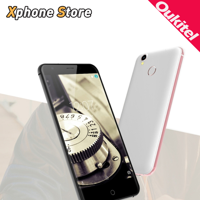 Original Oukitel K7000 5.0 inch Android 6.0 4G LTE RAM 2GB ROM 16GB MTK6737 Quad Core 1.3GHz Support FM A-GPS Cell Phones