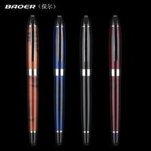 Alta qualidade baoer jinhao 24 cor média e fino caneta caneta de escritório negócios assuntos diários estudantes aprendem caneta profissional