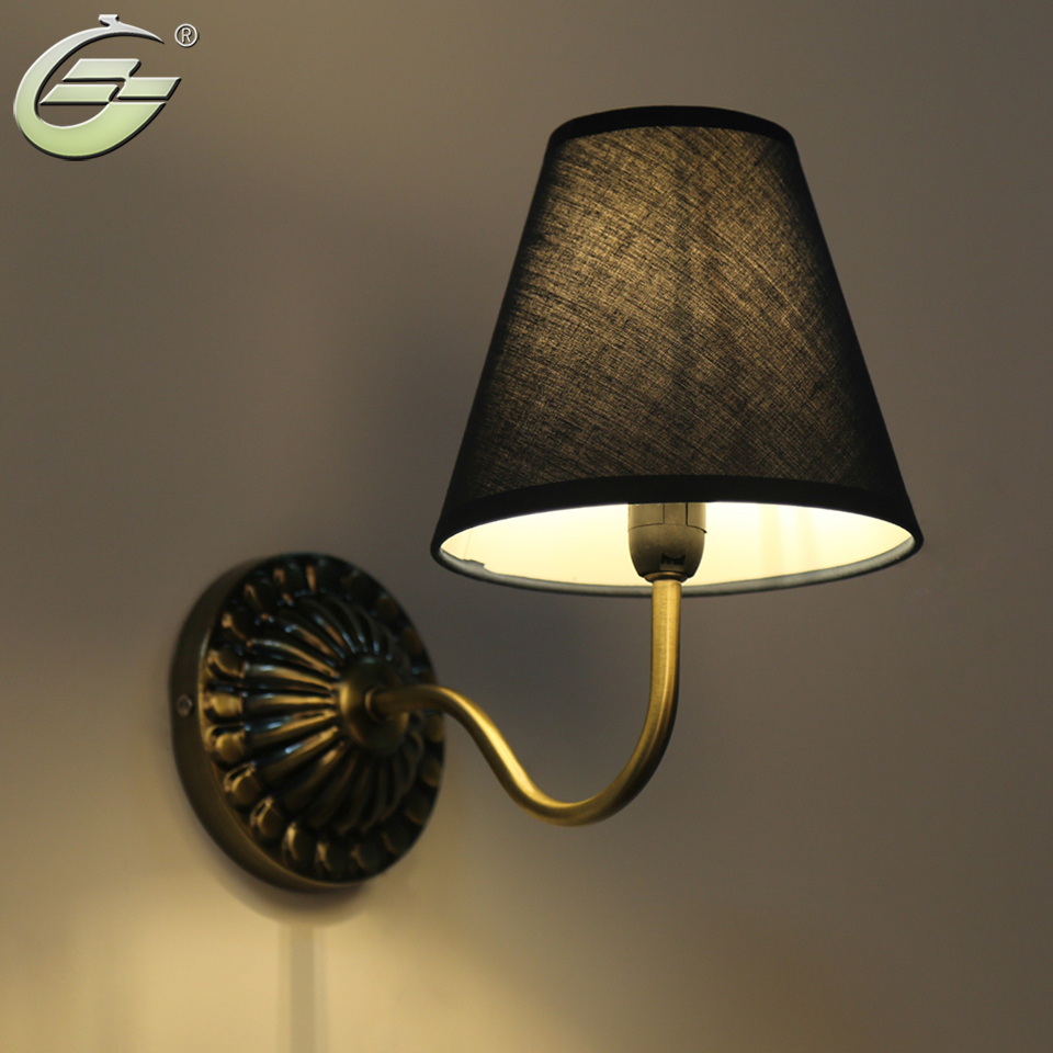 American Vintage Style Wall Lamp Bedside Lamps Wall Lights Stair Lighting For Bedroom Home Decor