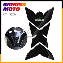 3D Motorcycle Gas Tank Pad Protector Decals Case for Kawasaki Z900 Z 900 From 2017