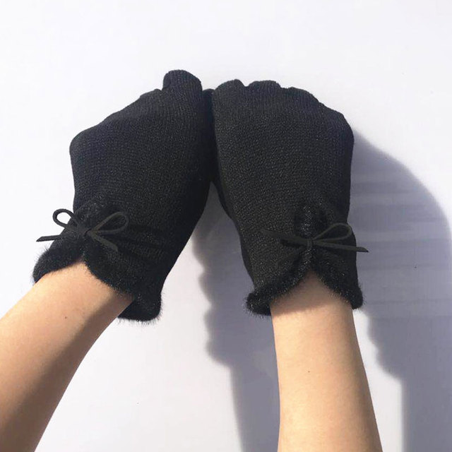 woolen gloves for ladies navy blue leather gloves womens insulated gloves women's waterproof winter gloves convertible gloves Women Gloves & Mittens