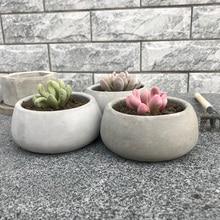 Molds for plaster pot ,concrete flower pot molds succulent plants pot molds