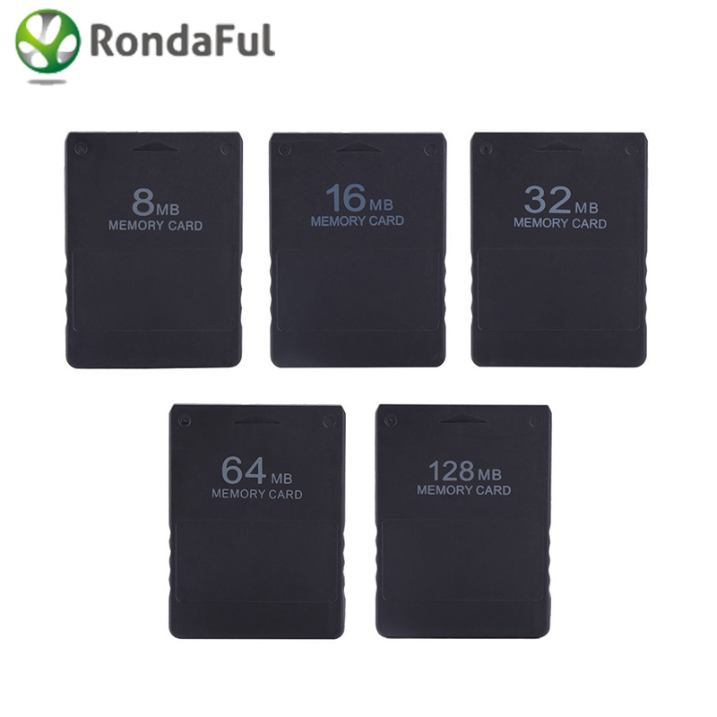 Wholesale 8M / 16M / 32M / 64M /128M Memory Card Save Game Data Stick Module For Sony PlayStation 2 PS2 High Quality Memory Card memory efficient data structure for static huffman tree
