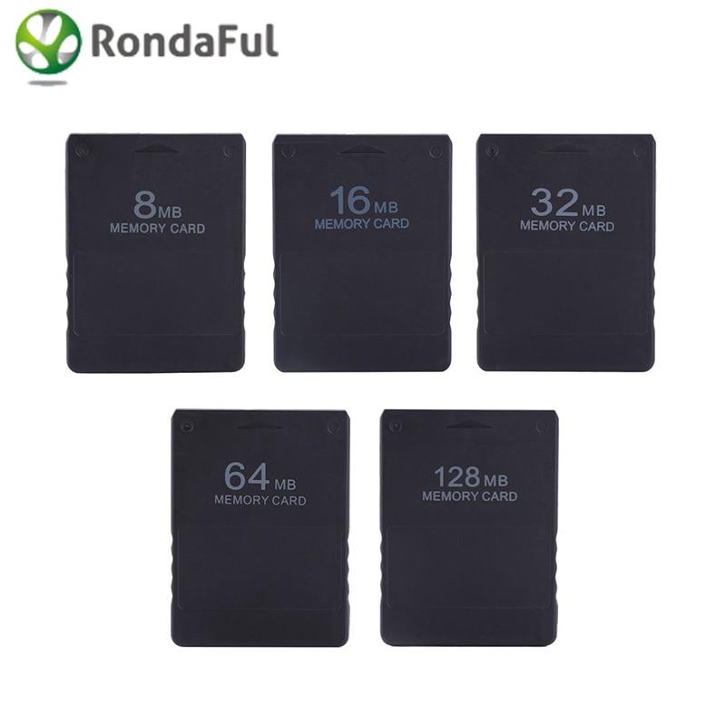 все цены на Wholesale 8M / 16M / 32M / 64M /128M Memory Card Save Game Data Stick Module For Sony PlayStation 2 PS2 High Quality Memory Card онлайн