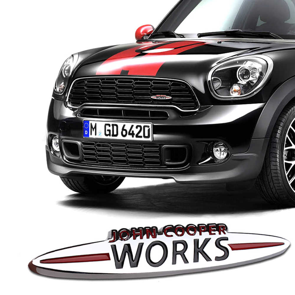 Detail Feedback Questions About Car Stickers Emblem Badge For Mini
