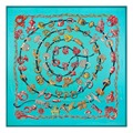 130*130cmwomen silk scarf big square silk satin scarfs100% pure silk scarfs fashion brand scarf large silk shawls pashminas wrap