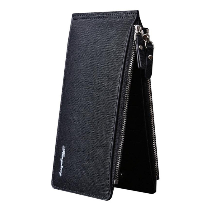 Hot HENGSHENG Male wallets High-quality brand Leather Wallet Women Long Style Purse Brand Capacity Clutch Card Holder Pouch aim fashion women s long clutch wallet and purse brand designer vintage leather wallets women bags high quality card holder n801