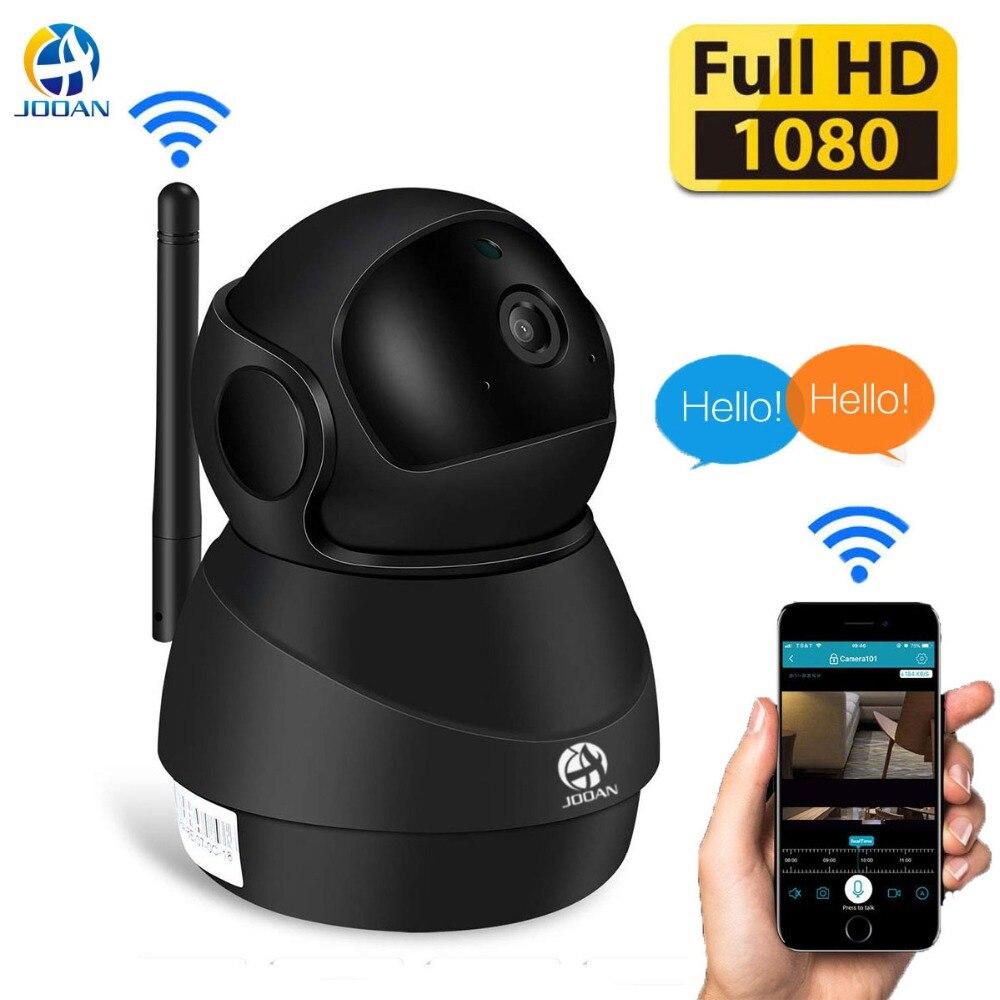 JOOAN Wireless Baby Monitor Cámara cámara IP wifi HD 1080 P de seguridad para el Hogar Inteligente 10 m visión en noche y con Video de vigilancia interior cámara