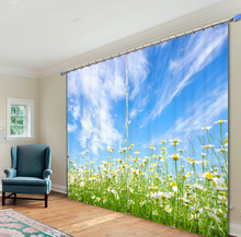 All Kinds Of Flowers 3d Curtains For Living Room Window Treatments Modern Curtains For Beding Room