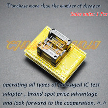 TSSOP34 to DIP34 Programmer adapter CNV-SSOP34-DIP SSOP34 test socket 0.65mm Pitch 7.8mm Width