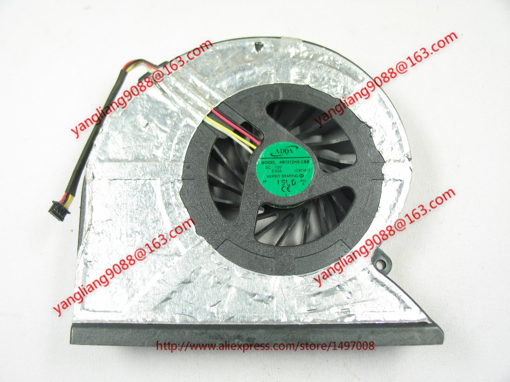 Free Shipping For ADDA AB1212HX-CBB, CWNZ2 DC 12V 0.50A 4-wire 4-pin connector 60mm Server Cooling Blower fan ecotools набор кистей limited edition anniversary collection