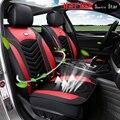 Almofada do assento de carro cheio de espessura respirável almofadas de assentos para camry não quente tampas de assento auto para cruz