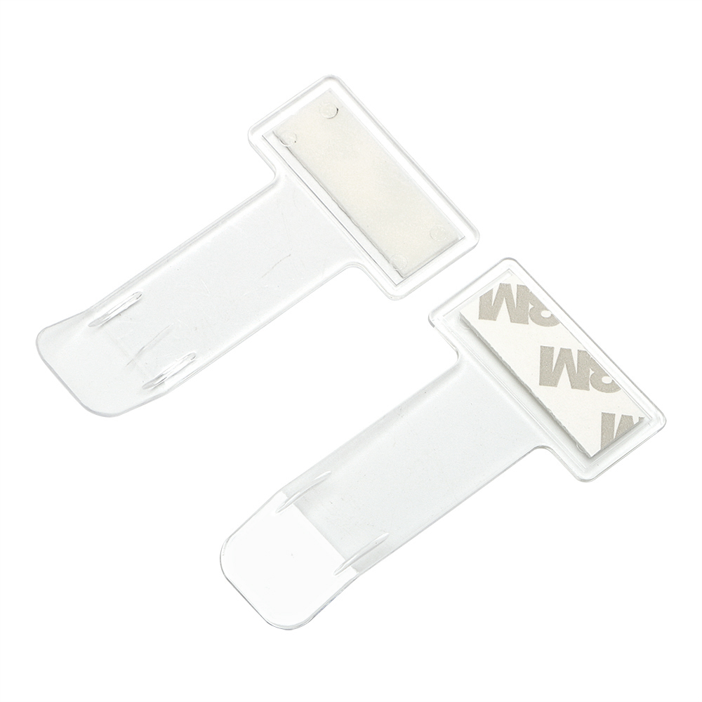 1 Pairs Car Windscreen Parking Ticket Clips Decals Portable