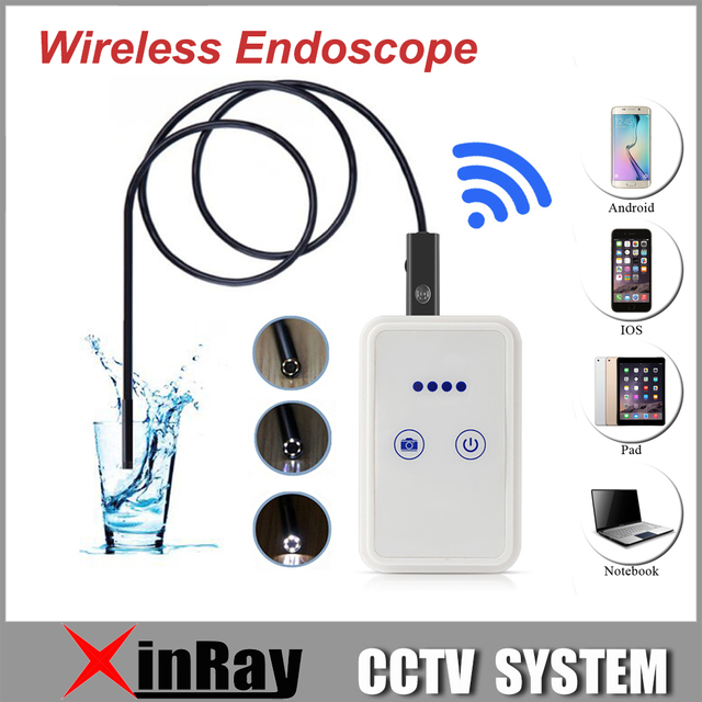 Xinray novo wi-fi usd apoio endoscópio 30 m distância wi-fi android ios tablet iphone endoscópio htwe9 comprimentos diferentes para escolher