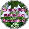 100% pure plant водорастворимые эфирные масла розмарина масло Ароматерапия ванна, посвященный Против Морщин Укрепляющий Похудения Потеря Волос