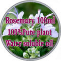 100% pure plant water soluble essential oils rosemary oil Aromatherapy bath dedicated Anti-Wrinkle Firming Slimming Hair Loss