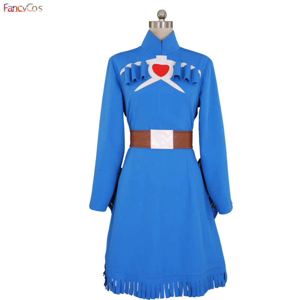 Halloween Women's  the Valley of the Wind  Nausicaa  Cosplay Costumes Adult costume movie High Quality Deluxe