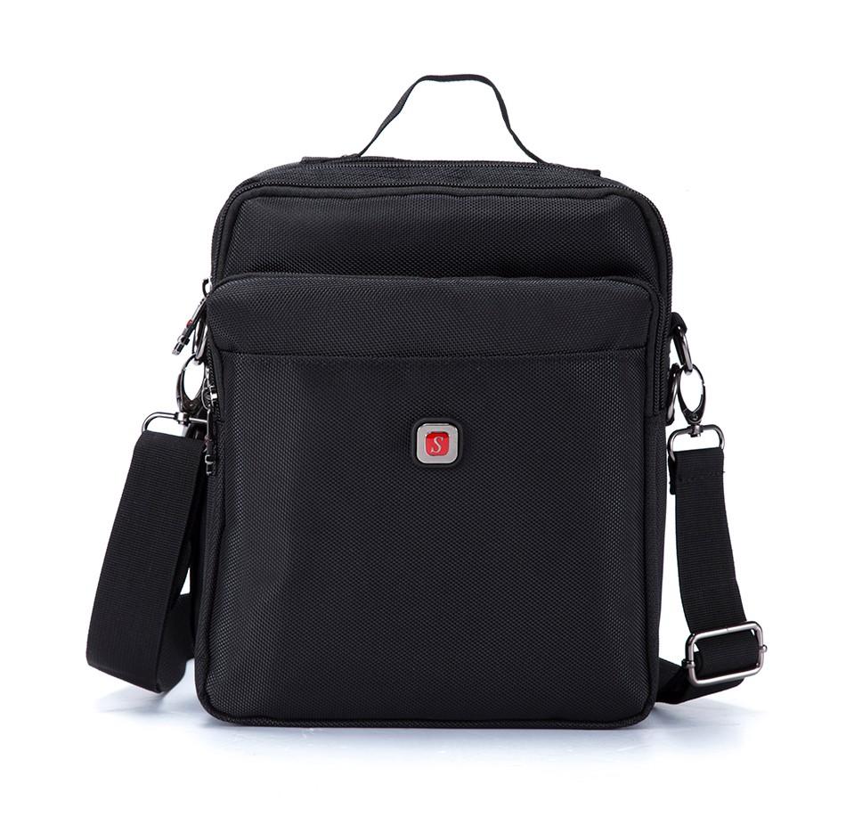 Men's Waterproof Oxford Messenger Bag