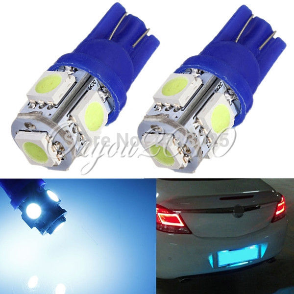 Big Promotion Ice Blue T10 501 194 168 W5W 5SMD 5050 LED Car Auto Side Wedge Light Parking Lamp Bulb DC12V cnsunnylight 10pcs canbus t10 w5w 168 194 smd led car wedge side mini bulb lamp for car tail parking dome door map light 5500k