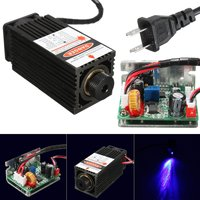 Laser Head Engraving Module 10W High Power 10000mw Blue Color Laser Head DIY Metal Engraving 450nm 445nm Lasers with TTL Driver