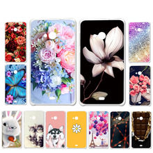 цена на Ojeleye DIY Patterned Silicon Case For Microsoft Nokia Lumia 535 Case Soft TPU Cover For Nokia 535 Covers Anti-knock Shell