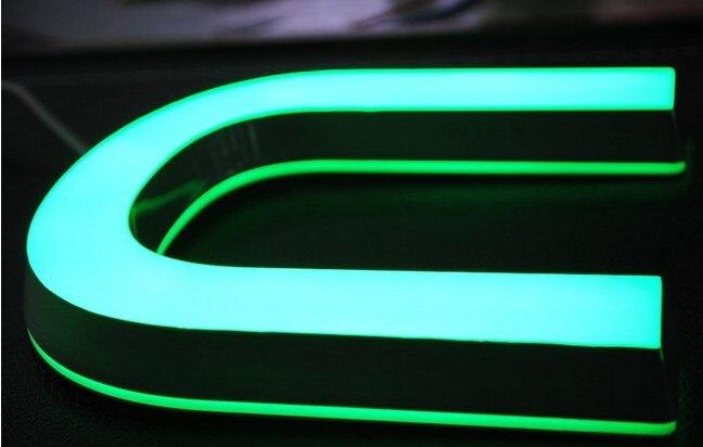 Professinal Factory custom make 3D Resin LED signs for