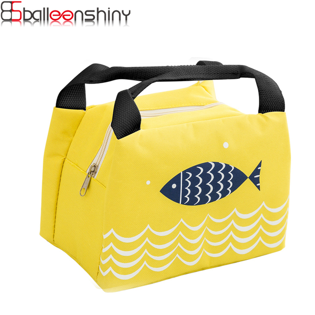 6f3205a379 Fish Food Insulation Bag Handbag Lunch Bag Outdoor Picnic Dinner Storage  Bags Insulation Cold Portable Ice