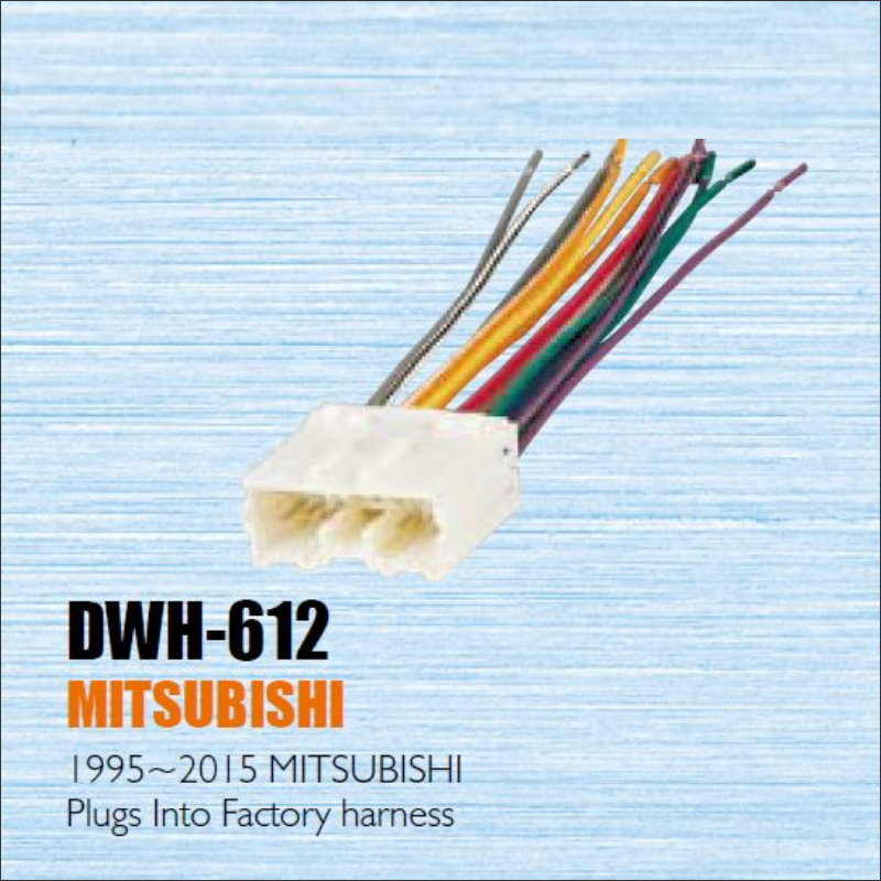Plugs Into Factory Harness For Mitsubish 1995 2015 font b Radio b font font b Power diagrams 14401920 integra fu box wiring diagram integra fu box wire fu harness at bayanpartner.co