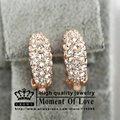 GR.NERH Top Quality Gold Plated Clip Earrings Made With Genuine SWA ELEMENTS Austrian Crystal Wholesale