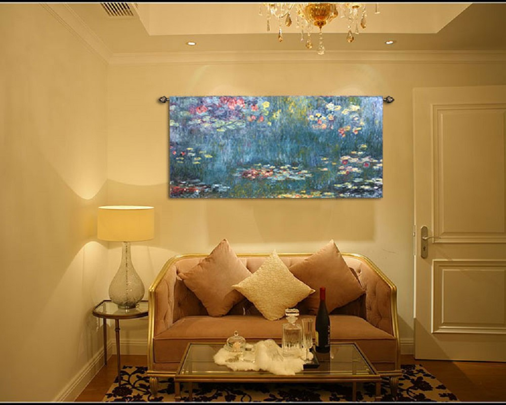 Aliexpress.com : Buy 65*135cm Home world famous painting Monet ...