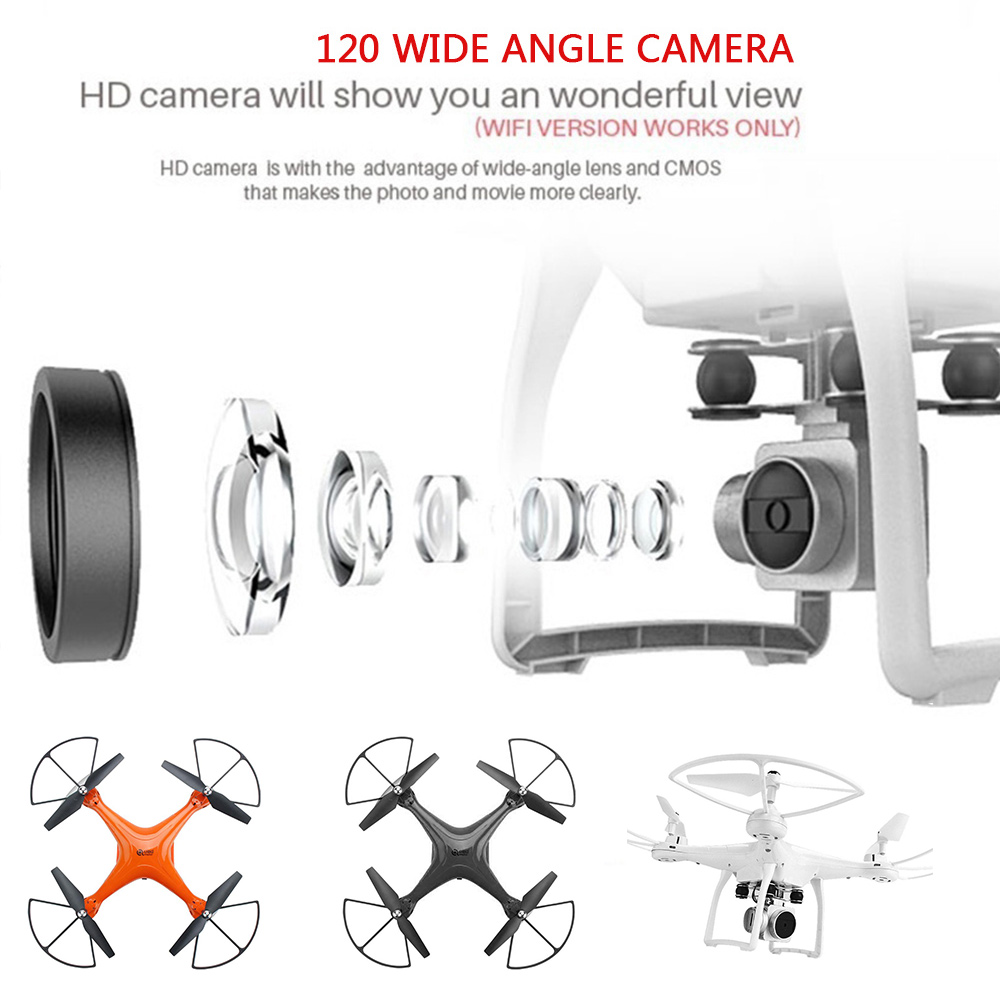 Quadcopter HD Mini Helicopter Photography Remote 120 Degree Headless Mode Aircraft quadcopter