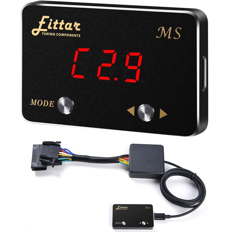 Voiture contrôleur d'accélérateur électronique Auto pédale de gaz Commander accélérateur pédale Booster voiture style pour LEXUS LX570 2008 +