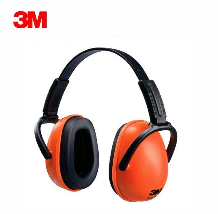 3M 1436 Folding Soundproof Earmuffs Professional Noise Protection Sleep Sleep Industrial Applicable Protective Ear Muffs стоимость