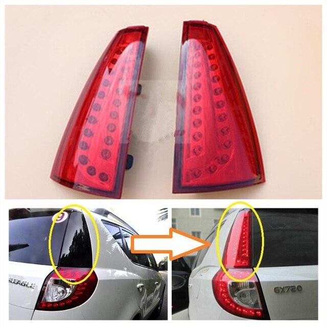 Geely Emgrand EX7 EmgrarandX7 X7 ВНЕДОРОЖНИК, автомобильные задние фонари, Задние фонари, стоп-сигнал, Колонка света в сборе