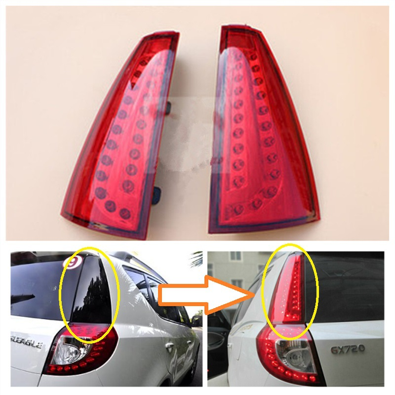 Geely Emgrand X7 EmgrarandX7 EX7 SUV Car taillights Rear font b lights b font Brake font