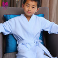 2017 High Quality Cotton Robe Solid terry Bathrobe Bathroom/Home/Hotel/Pool Dressing Gowns for Children Free Shipping New
