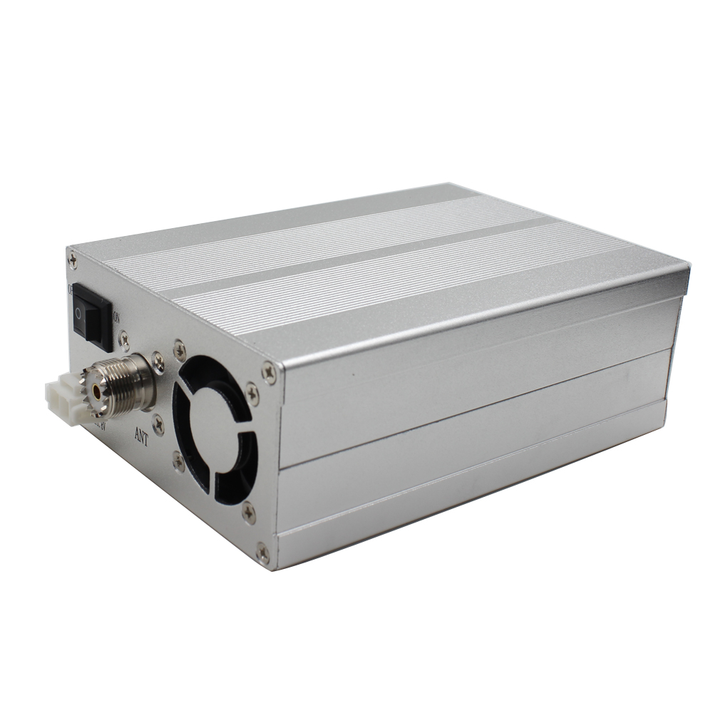 Walkie Talkie RF Output Power Amplifier 1~5W Input 20-80W Super HighOutput Power 400-470mhz Frequency Transmitting
