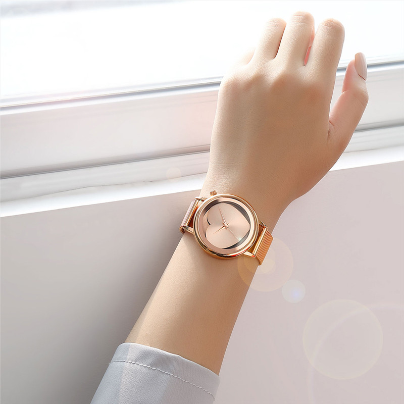 2018 Hot Sale Luxury brand women watches Lvpai Women's Casual Quartz Steel Mesh Band Watch Analog WristWatch moda mujer reloj 21 5