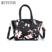 Fashion Printing Leather HandBags Women Messenger Bags Designer Totes Crossbody Shoulder Bag Boston Bolsa Feminina все цены