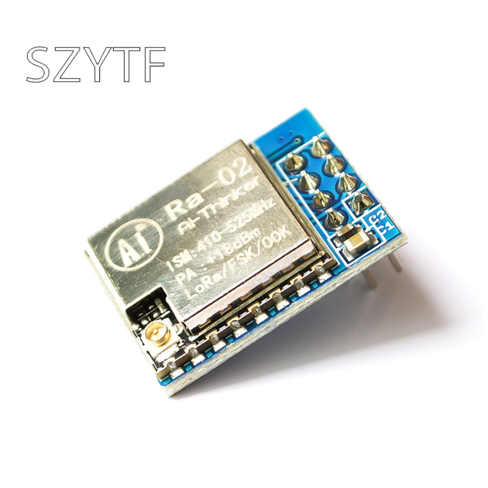 Módulo SX1278 LoRa Anxinke módulo inalámbrico de espectro extendido LORA RA-02 Módulo SFP RJ45 interruptor gbic 10/100/1000 conector SFP cobre módulo RJ45 SFP puerto Gigabit Ethernet