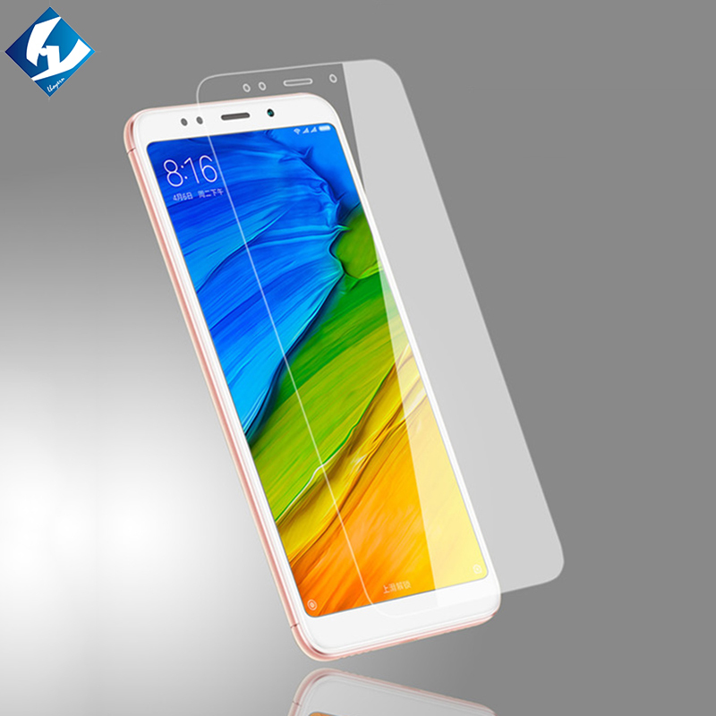 Tempered glass film For Xiaomi Redmi 5 redmi5 Plus small glass screen protector Not full coverage OTG adapter for gift