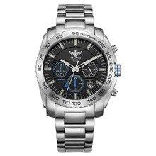 Новое поступление YELANG V1210 Eco-Drive двигаться Для мужчин t T100 трития световой Сталь ремень сапфир зеркало Для мужчин Бизнес часы наручные часы