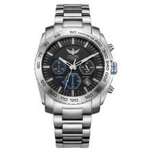 Nowy przyjeżdża YELANG V1210 Eco-ruchu napędu T100 tryt świetlna stali pasek Sapphire lustro mężczyźni biznes zegarek na rękę tanie tanio Kwarcowe Zegarki Na Rękę 22mm Kompletna kalendarz Odporny na wstrząsy Odporne na wodę Luminous QUARTZ 4 4mm ROUND Papier