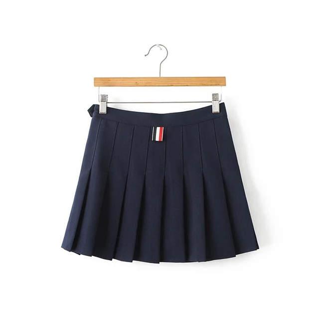 151862968 € 11.57 15% de DESCUENTO|2018 nuevo verano mujeres plisadas faldas Harajuku  mini falda alta cintura dulce lindo sexy Faldas Mujer SK001 en Faldas de ...