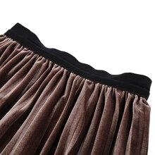 2017 Women High Waist Skirts Metallic Silver Midi Skirt Metallic Long Pleated Skirt Party Club Ladies Saia Fenimias