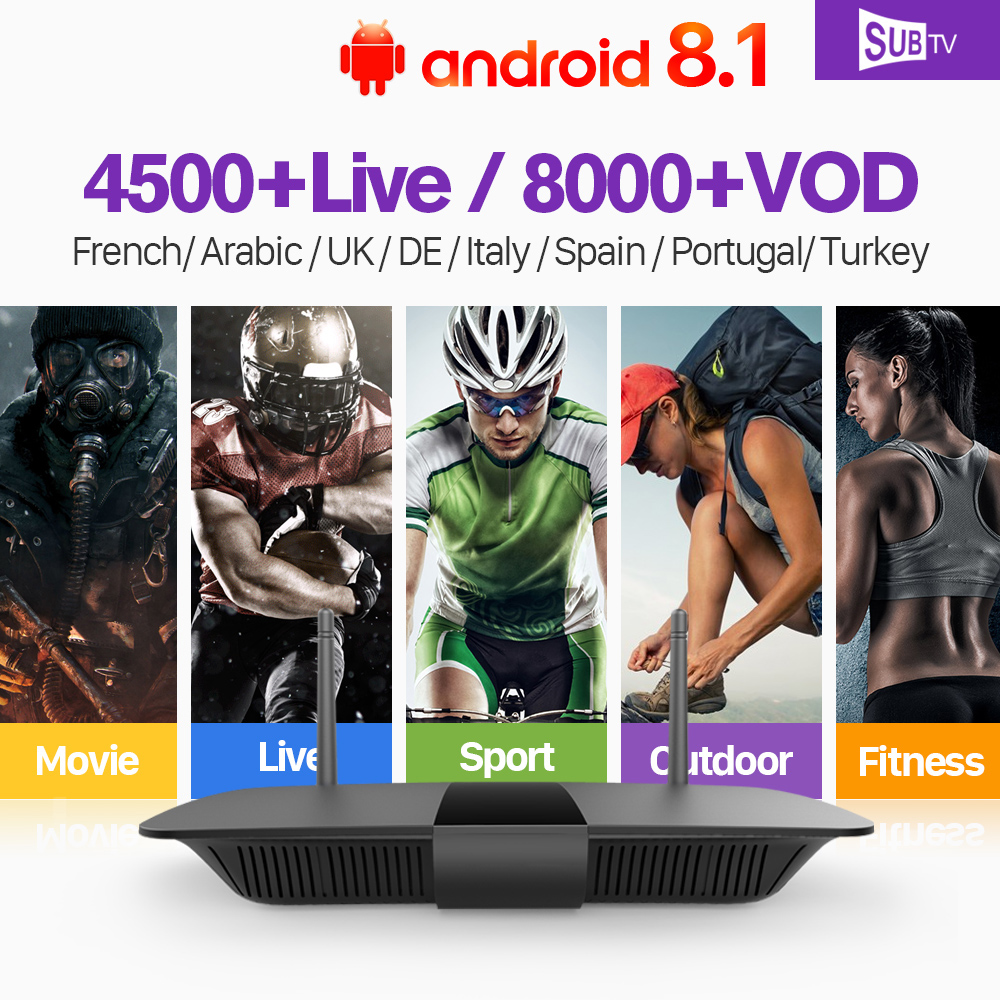 Leadcool France Arabic IPTV Q1504 TV Receiver Android RK3229 Quad-Core PK Leadcool TV box with HD SUBTV IPTV France Arabic IP TV leadcool iptv sweden europe r1 tv receiver android 8 1 quad core pk leadcool tv box iptv uk italy sweden spain portugal ip tv