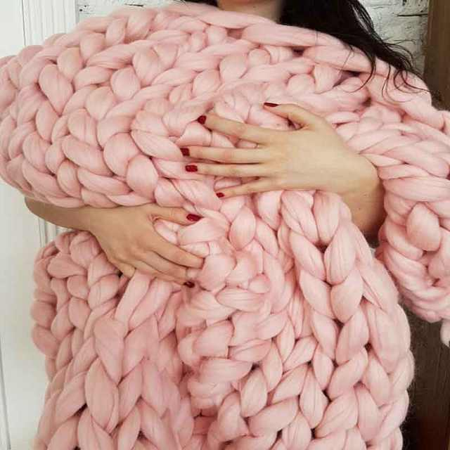 Knitted Soft Blanket